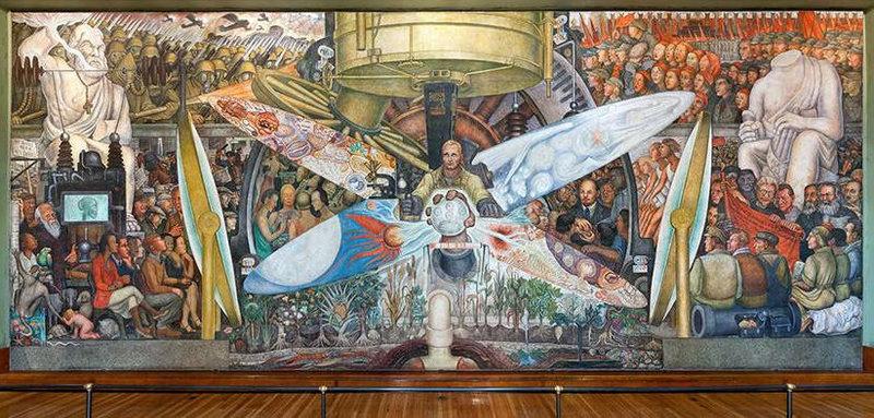"Mural pod nazivom ""Čovjek na raskršću"""